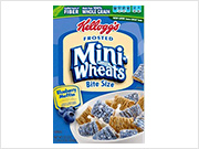 Frosted Mini-Wheats Blueberry Cereal
